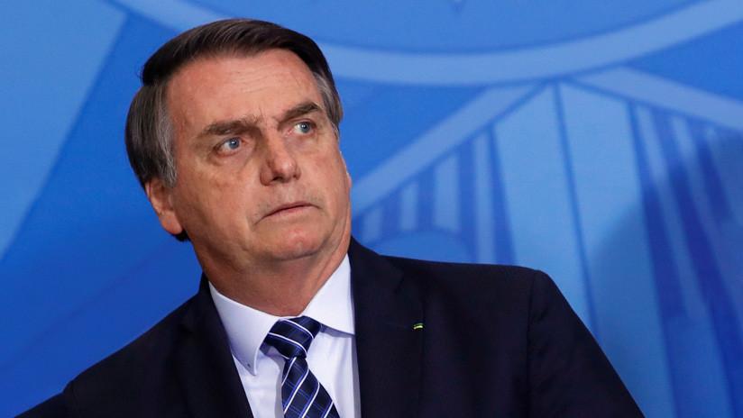 """Bolsonaro dice que hablará ante la ONU sobre la Amazonia """"aunque sea en silla de ruedas"""""""
