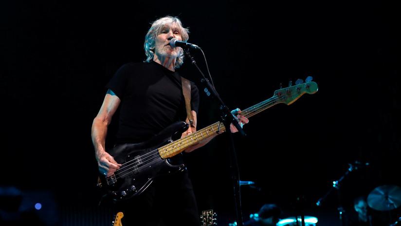VIDEO: Roger Waters de Pink Floyd canta en apoyo a Assange ante el Ministerio británico de Interior