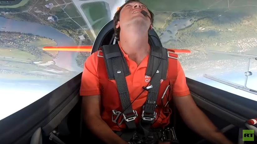 VIDEO: Las sorprendentes y vertiginosas acrobacias de un piloto ruso en el salón MAKS 2019