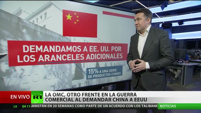 China demanda a EE.UU. ante la OMC y abre un nuevo frente en la guerra comercial