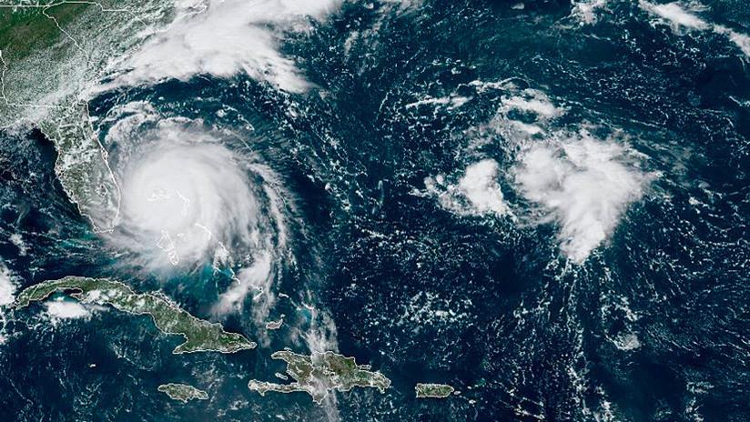 ¿Por qué Dorian no se mueve? El huracán sigue estancado en Bahamas y detiene su marcha rumbo a Florida
