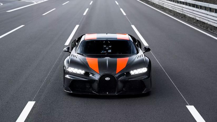 VIDEO: Un Bugatti Chiron logra superar la barrera de los 490 km/h