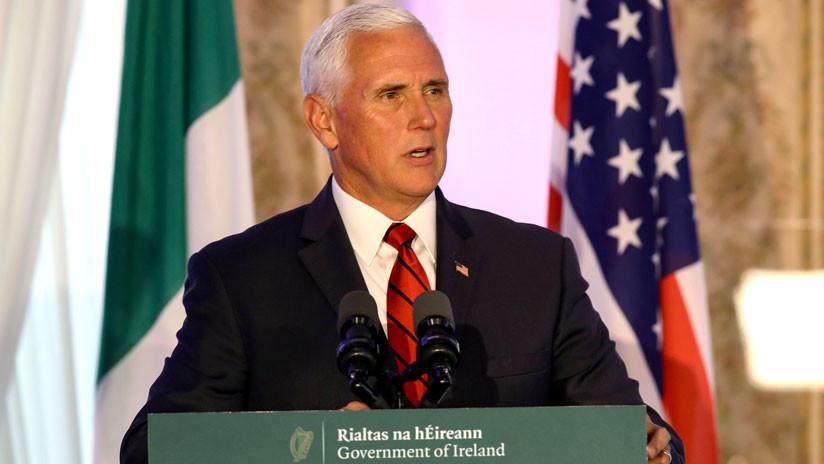 Mike Pence confunde en un tuit la bandera irlandesa con la de Costa de Marfil