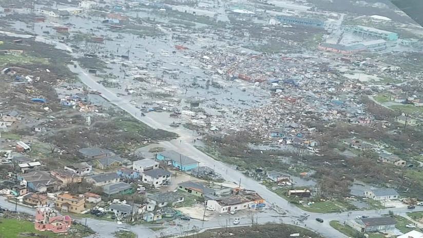 Bahamas hace recuento de víctimas y destrozos tras el devastador paso del huracán Dorian