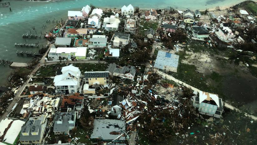 VIDEO: Imágenes aéreas de lo que quedó de Bahamas tras el devastador paso del huracán Dorian