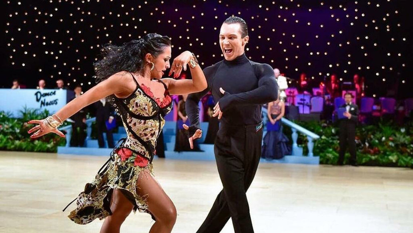 Un dúo rusoespañol luchará por obtener la Copa Mundial de Bailes Latinos en Moscú