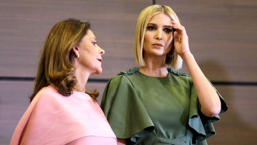 Un golpe de viento convierte a Ivanka Trump en el blanco perfecto de las burlas en Twitter