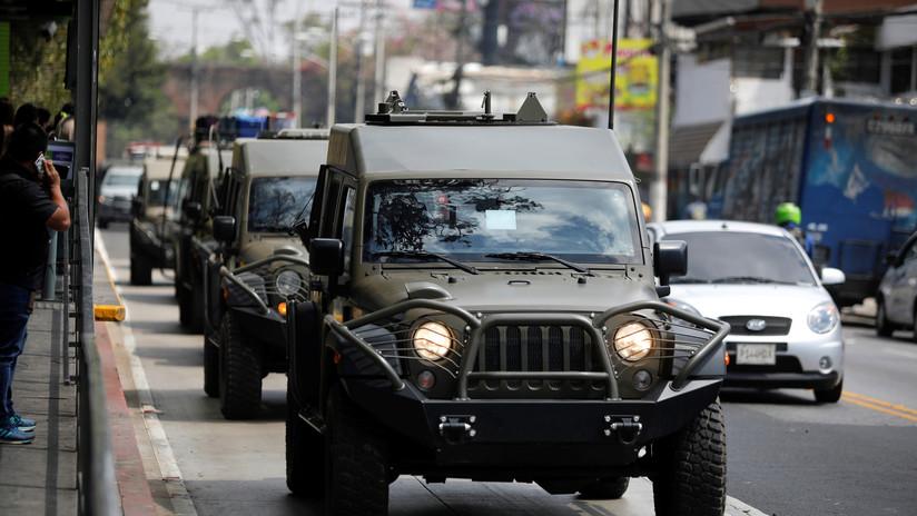 Guatemala declara 'estado de sitio' en varios municipios tras violenta emboscada a militares