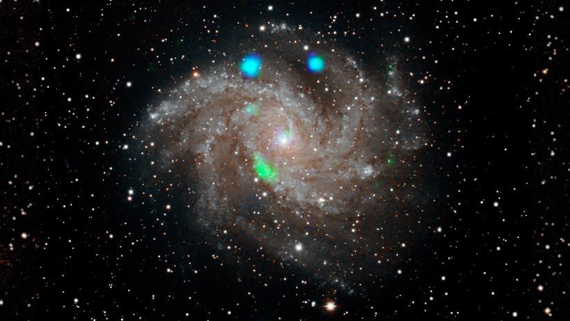 La NASA detecta una luz verde en el espacio antes de desaparecer a los pocos días