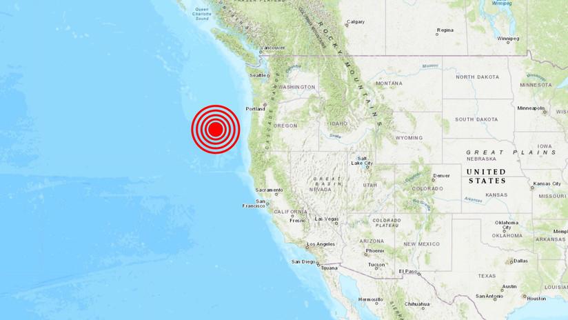 Se registra un sismo de magnitud 5,9 frente a la costa oeste de EE.UU.