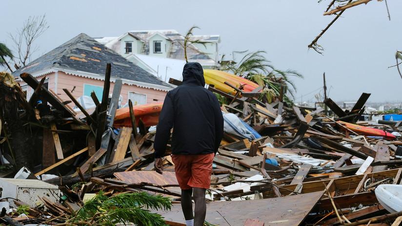 """Ministro de Sanidad de Bahamas: El número de muertes por el huracán Dorian """"podría ser asombroso"""""""