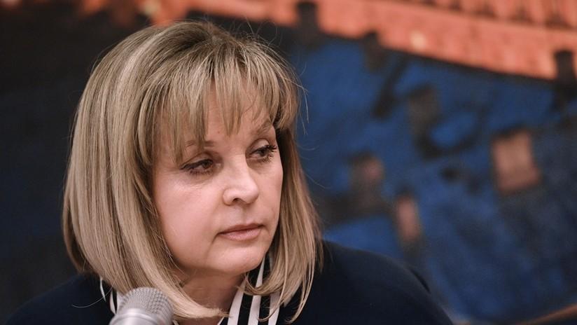 Atacan con una pistola eléctrica a la jefa de la Comisión Electoral Central de Rusia en su casa
