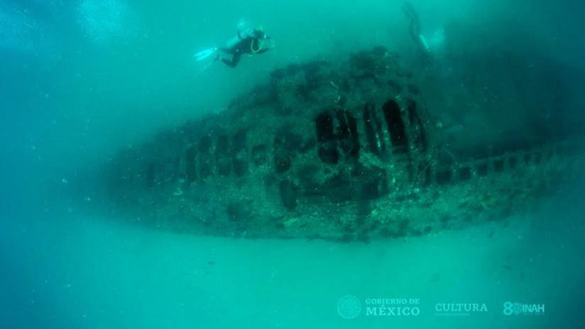 Descubren submarino estadounidense de la Primera Guerra Mundial en las costas de México (FOTOS)