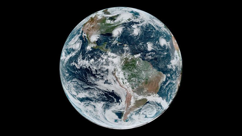 Satélites de la NASA captan desde el espacio a Dorian y otras cuatro potentes tormentas tropicales