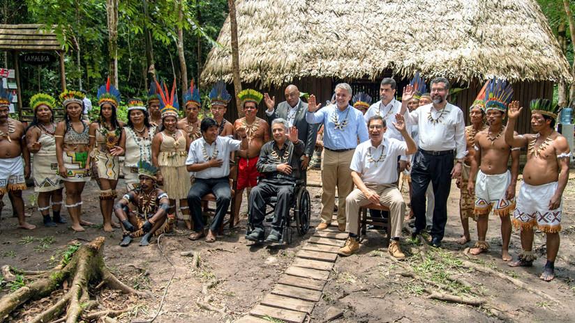 Amazonía: Países latinoamericanos firman declaración en Colombia para proteger al pulmón del planeta