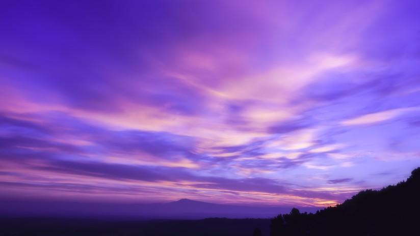 Dorian pasa por Florida dejando tras de sí un asombroso cielo color púrpura (FOTOS, VIDEO)