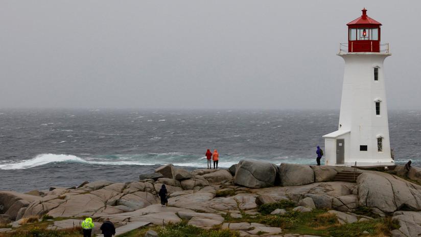 Las costas de Canadá se preparan para el paso del huracán Dorian