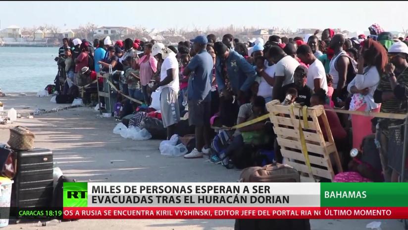 Bahamas: Miles de personas esperan a ser evacuadas tras el desastre del huracán Dorian