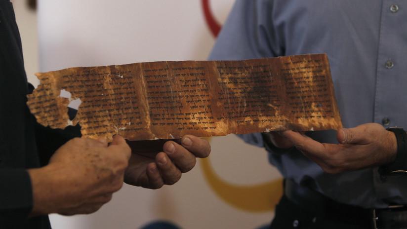 Descubren un nuevo secreto del rollo más extenso de los Manuscritos del mar Muerto