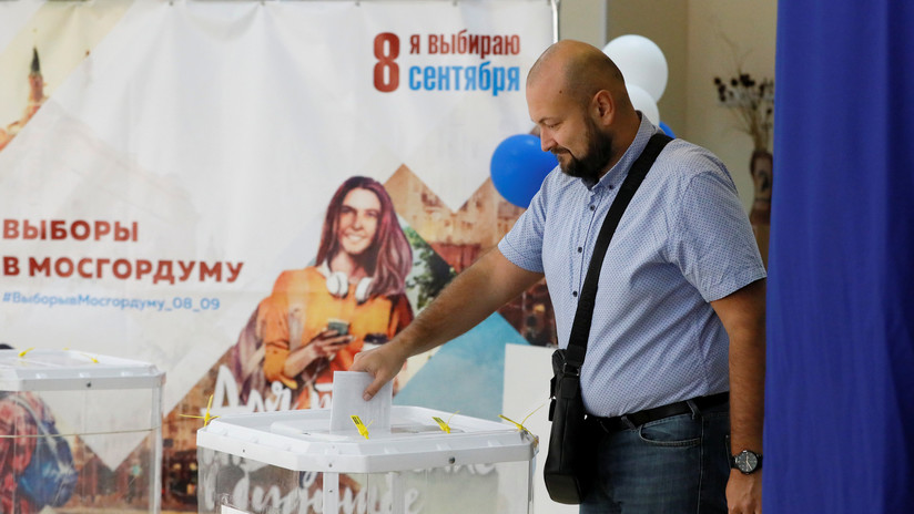 Rusia celebra elecciones locales tras semanas de protestas en Moscú