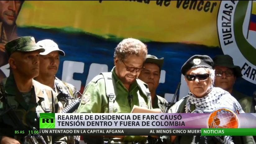 El rearme de la disidencia de las FARC causa tensión dentro y fuera de Colombia