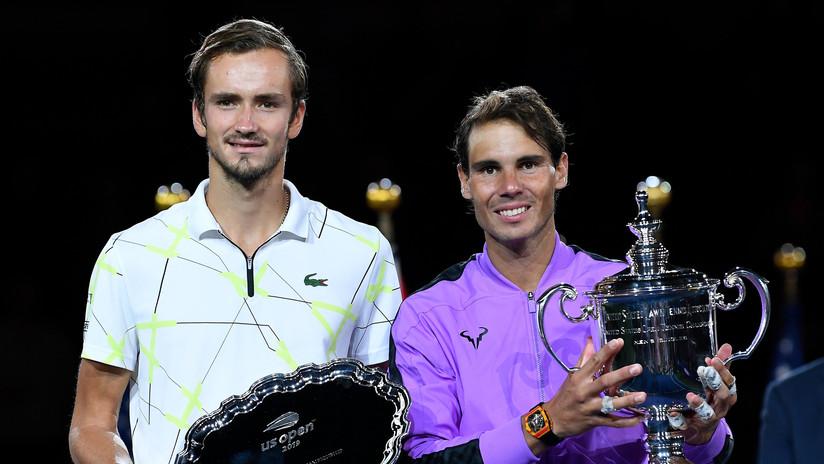 Rafa Nadal gana el US Open en un sufrido duelo ante el ruso Medvédev