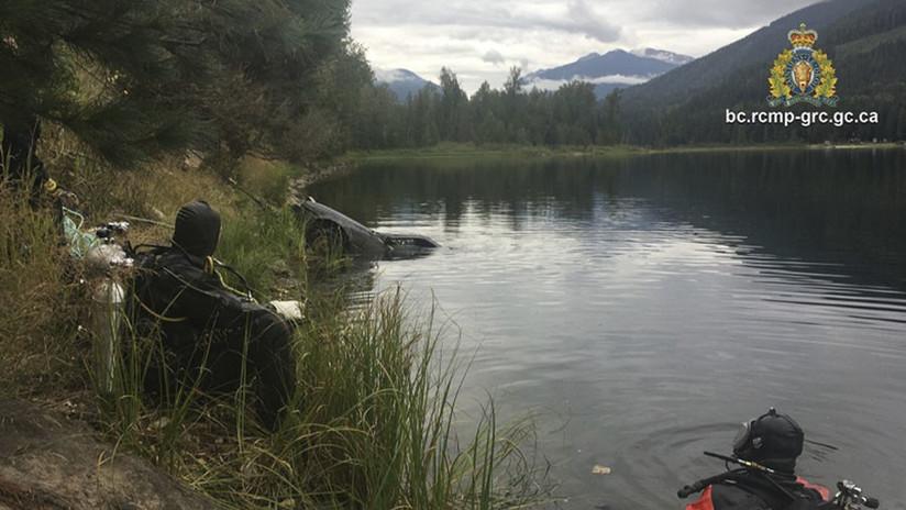 VIDEO, FOTO: Un menor ayuda a resolver un caso de hace 27 años tras filmar con su GoPro un auto sumergido en un lago