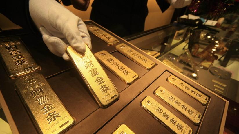 China agrega casi 100 toneladas de oro a sus reservas en 2019