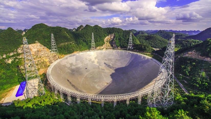 El telescopio más grande del mundo registra en pocos días más de 100 radioseñales misteriosas provenientes del espacio
