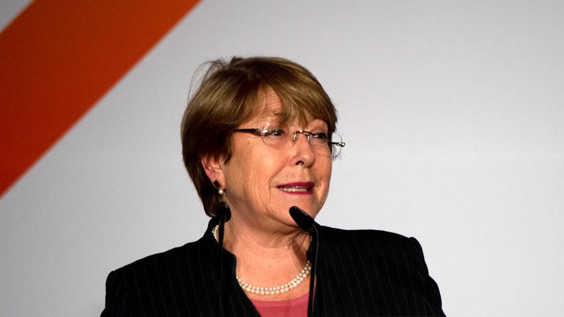 """Bachelet pide al Gobierno venezolano y a la oposición que retomen el diálogo """"para superar la crisis"""""""