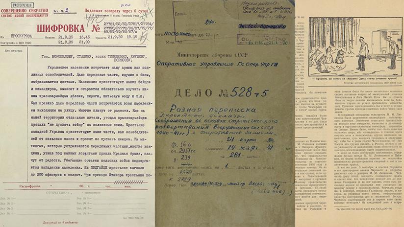 Rusia desclasifica documentos únicos sobre la Segunda Guerra Mundial