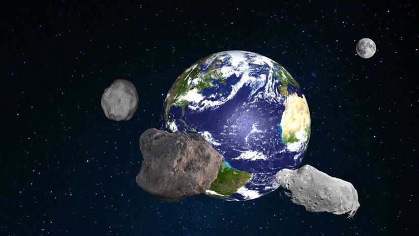 Tres asteroides Apolo se aproximan a la Tierra este lunes