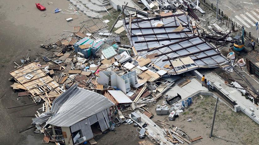 VIDEO, FOTOS: El tifón Faxai golpea Tokio y deja 3 muertos, 50 heridos y casi 1 millón de personas sin electricidad