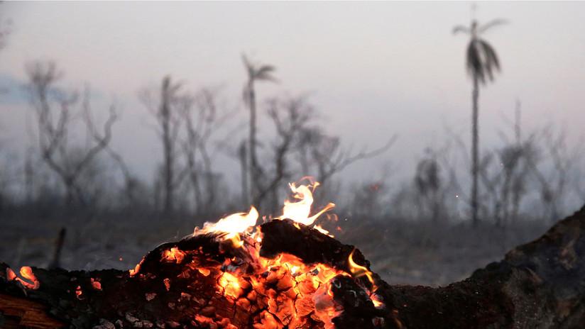 Los focos de incendio en Bolivia se intensifican por los fuertes vientos