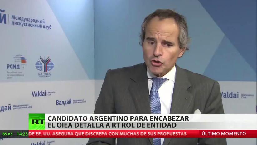 """El candidato argentino al OIEA pide """"un mandato concreto"""" para el programa nuclear de Pionyang"""
