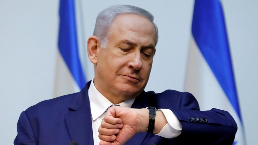 VIDEOS: Sirenas antiaéreas obligan a Netanyahu a interrumpir un evento de campaña