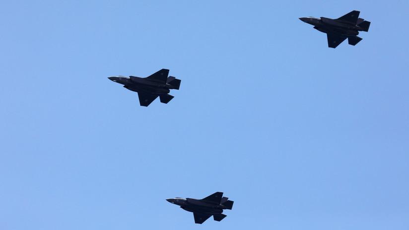 Aviones israelíes lanzan ataques contra 15 objetivos en Gaza