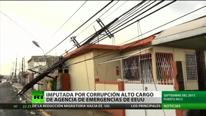 Detienen por fraude a funcionaria de la agencia de emergencias de EE.UU. a cargo de la restauración de Puerto Rico tras el huracán María