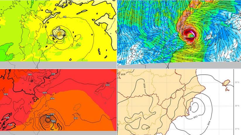 Un huracán mediterráneo podría alcanzar la costa española