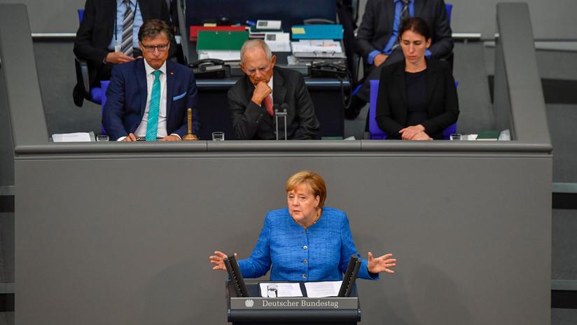 """Merkel: """"EE.UU. ya no asumirá automáticamente el papel del defensor de Europa como en la Guerra Fría"""""""