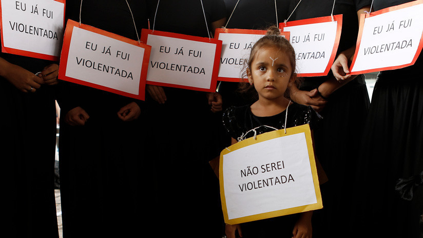 Cuatro niñas de menos de 13 años son violadas cada hora en Brasil