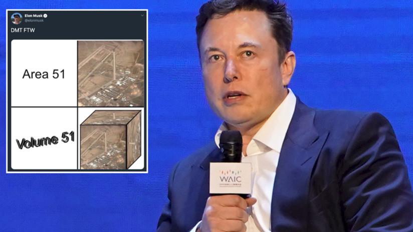 Musk reaviva la repercusión sobre el 'asalto' masivo del Área 51 publicando un meme matemático