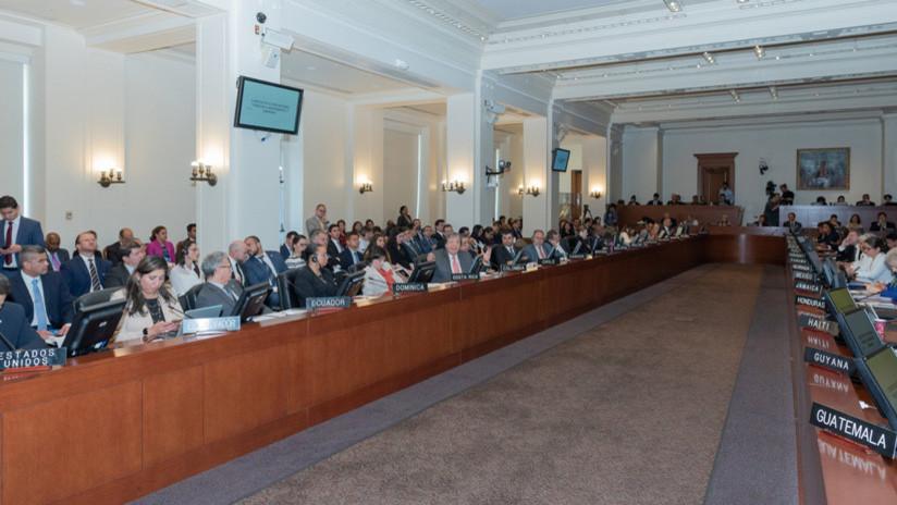 Más presión sobre Venezuela: la OEA convoca al órgano de consulta del mecanismo de defensa interamericano