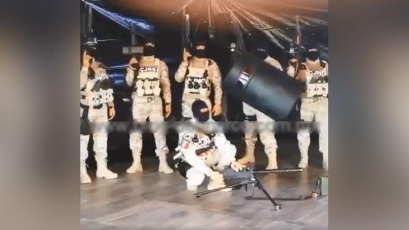 """El Cártel Jalisco Nueva Generación lanza video en que promete terminar """"la guerra"""" a cambio del líder de un grupo enemigo"""