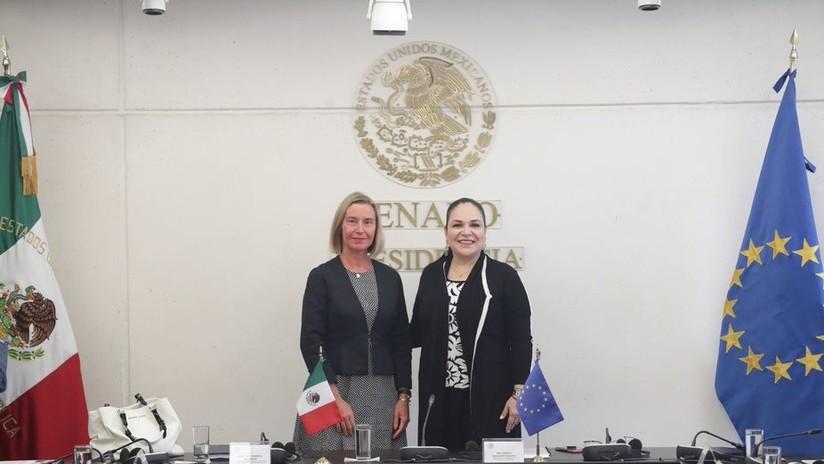 """La UE y México cerca de firmar """"uno de los más avanzados"""" acuerdos comerciales"""