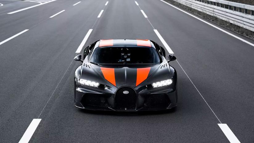 Bugatti presenta la versión en serie del carro más veloz del mundo, con un precio de 3,8 millones de dólares