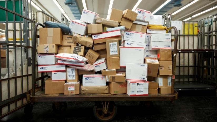 Reportan que EE.UU. intensificará la inspección de paquetes enviados desde el extranjero