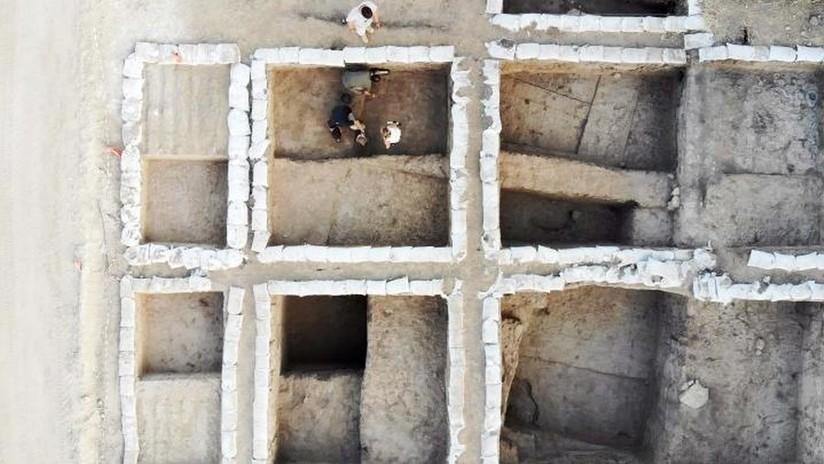 FOTOS: Excavan en Israel una importante ciudad comercial egipcia de 5.300 años de antigüedad