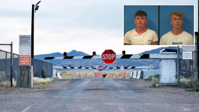 Detienen en EE.UU. a dos 'youtubers' por violar la zona de seguridad del Área 51