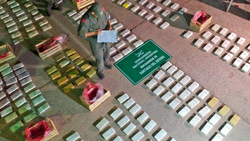 Escondían la droga entre tomates, berenjenas y zapallitos: hallan 408 kilos de cocaína en Argentina (FOTOS, VIDEO)